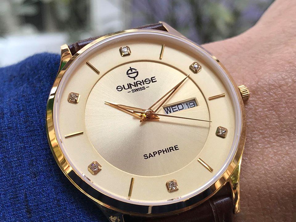 Đồng hồ nam Sunrise 1109PBGK-GL-V