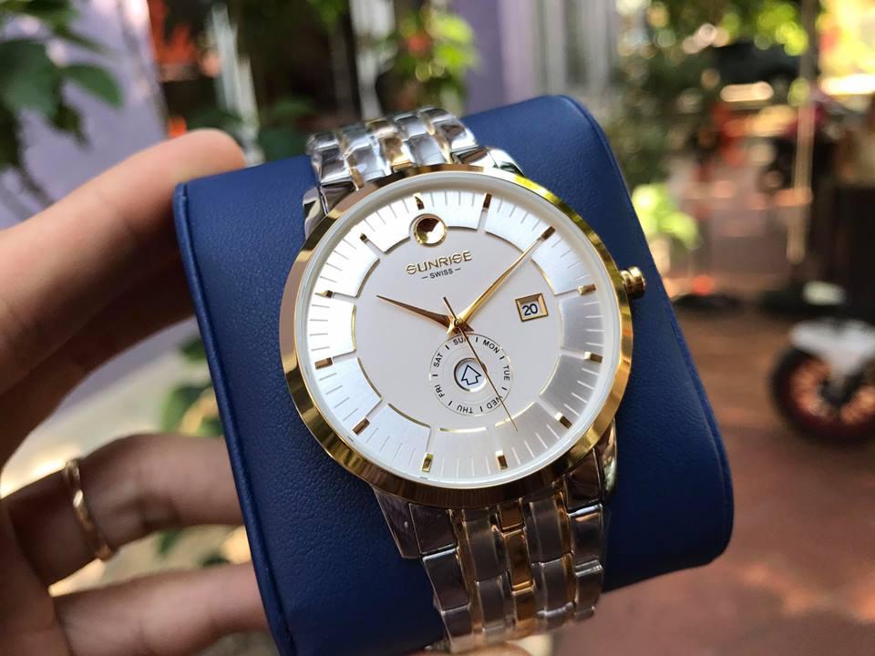 Đồng hồ NAM Sunrise 1115SAGSK-T