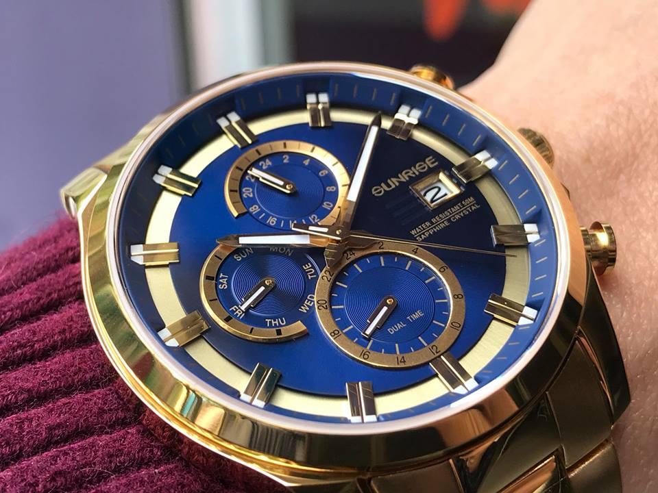 Đồng hồ Sunrise 1139SAGK-X