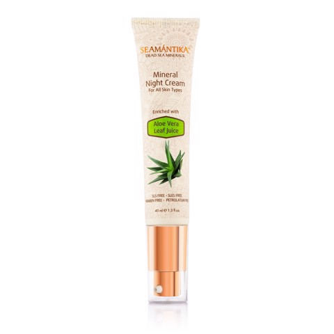 MINERAL NIGHT CREAM - ALOE VERA LEAF JUICE