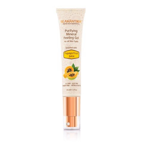 PURIFYING MINERAL PEELING GEL - PAPAYA FRUIT JUICE