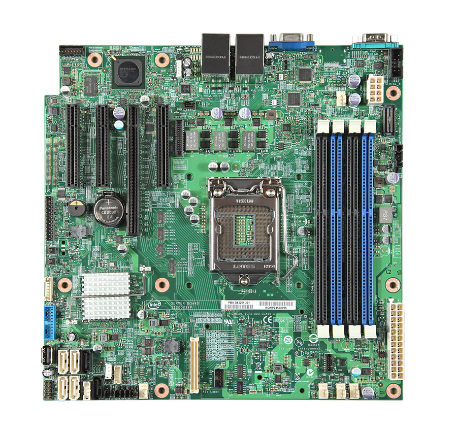 Bo mạch Intel Server S1200V3RPS (Socket LGA1150)