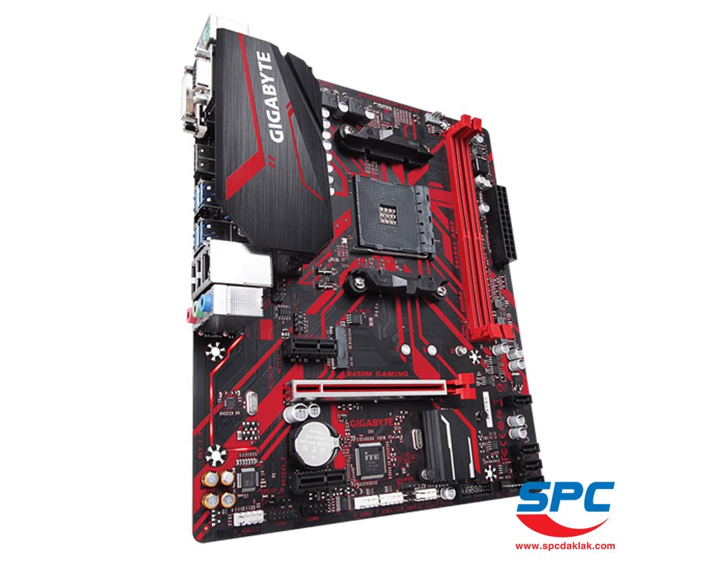 Bo mạch Gigabyte B450M GAMING (AM4)