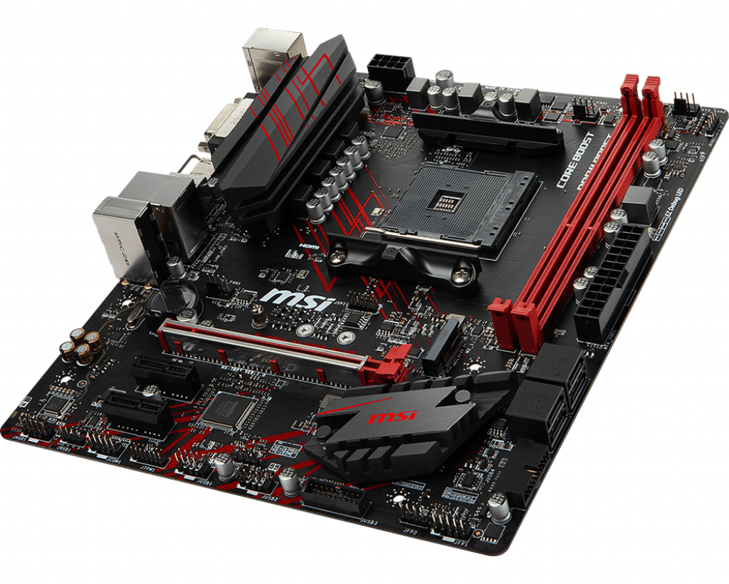 Bo mạch MSI B450M GAMING PLUS (AM4)