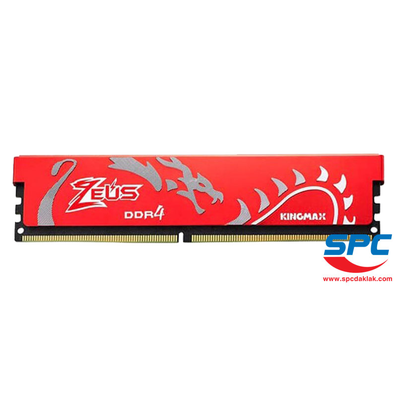 Bộ nhớ DDR4 Kingmax Zeus 8Gb/3000 Dragon Heatsink