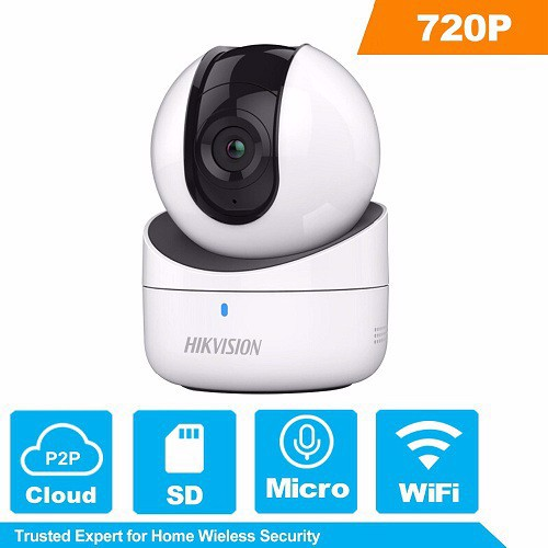 Camera Hikvision IP Robot 1MP Wifi xoay /DS-2CV2Q01EFD-IW