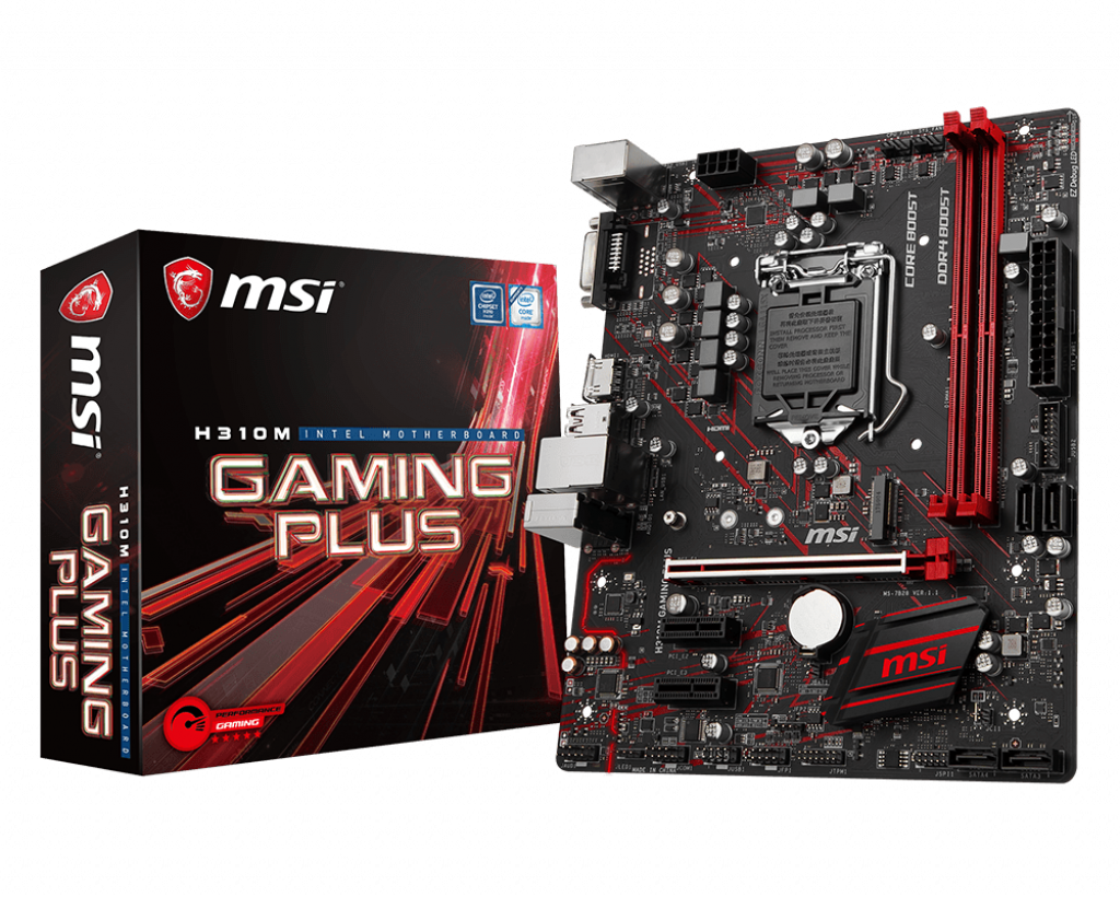 Bo mạch MSI H310M GAMING PLUS