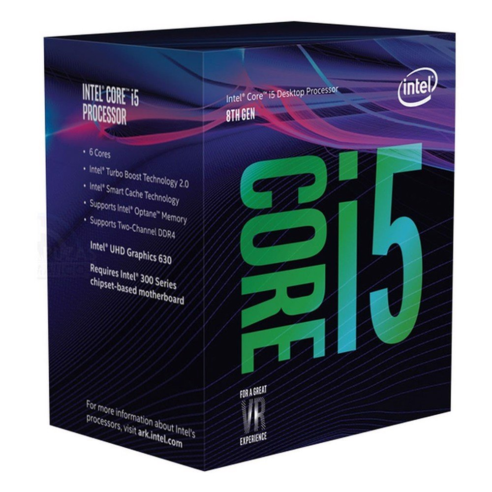 Vi sử lý CPU Intel Core i5-8400 Coffee Lake (2.8-4.0Ghz/LGA1151-V2)
