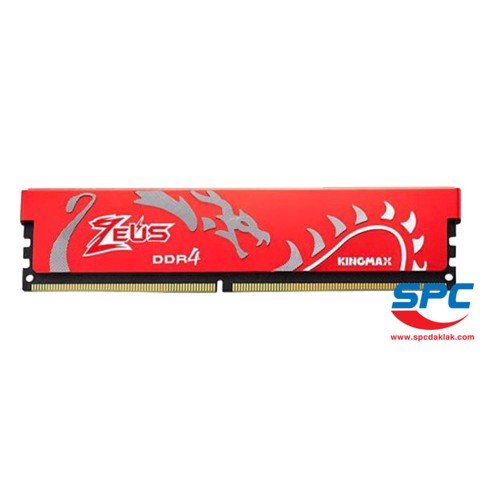 Bộ nhớ DDR4 Kingmax Zeus 16Gb (1x16G)/3000 Dragon Heatsink