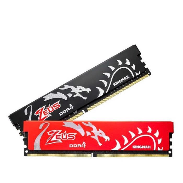 Bộ nhớ DDR4 Kingmax Zeus 8Gb/2400 Dragon Heatsink