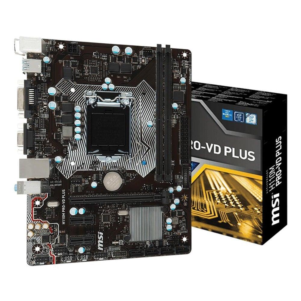 Bo mạch MSI H110M Pro VD Plus