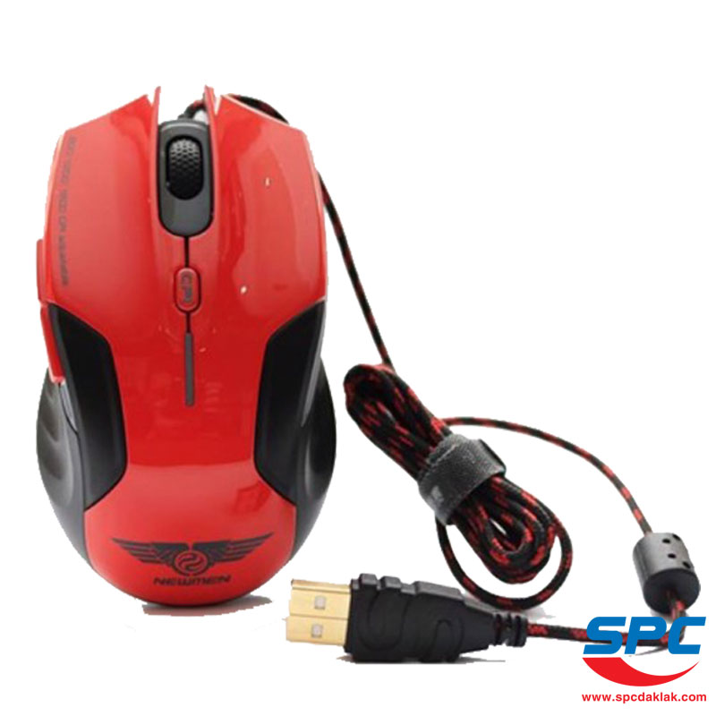 Chuột Newmen N500 Plus Red