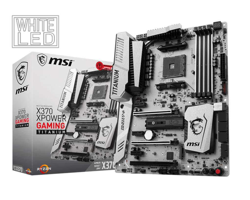 Bo mạch MSI X370 XPOWER GAMING TITANIUM