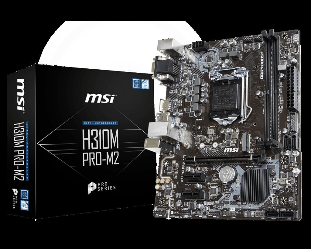 Bo mạch MSI H310M PRO-M2