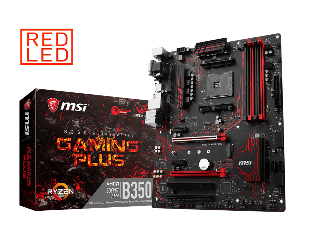 Bo mạch MSI B350 GAMING PLUS