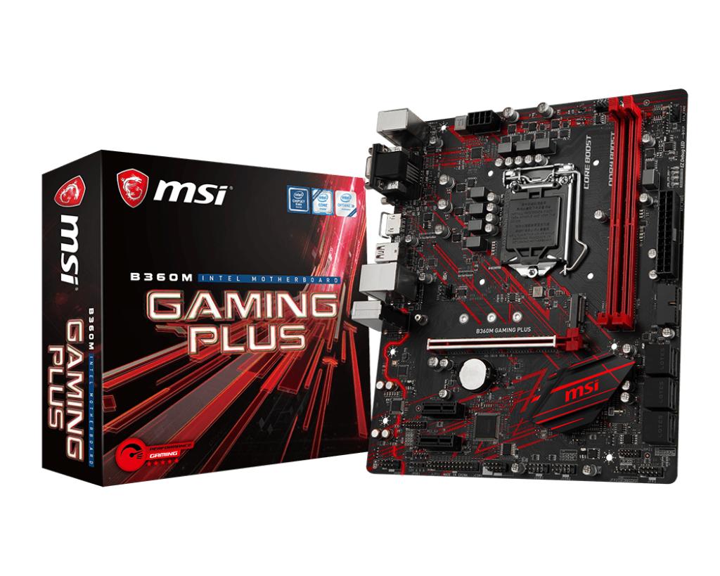 Bo mạch MSI B360M GAMING PLUS