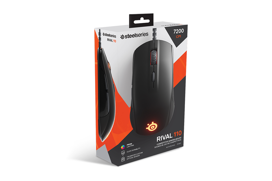 Chuột Steelseries Rival 110 Matte /Black 62466 /White 62468