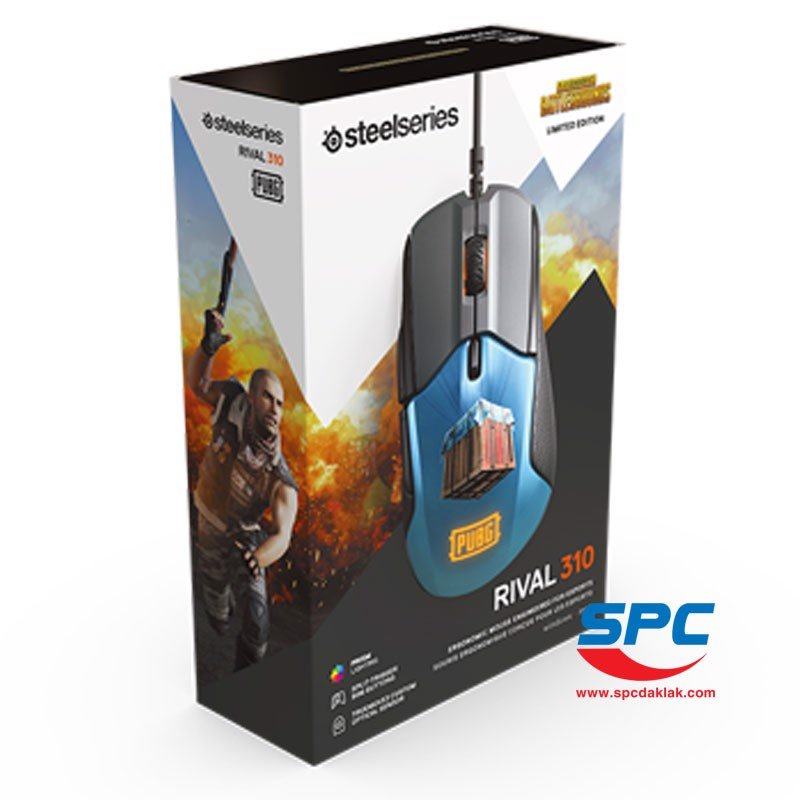 Chuột Steelseries Rival 310 PUBG /62435