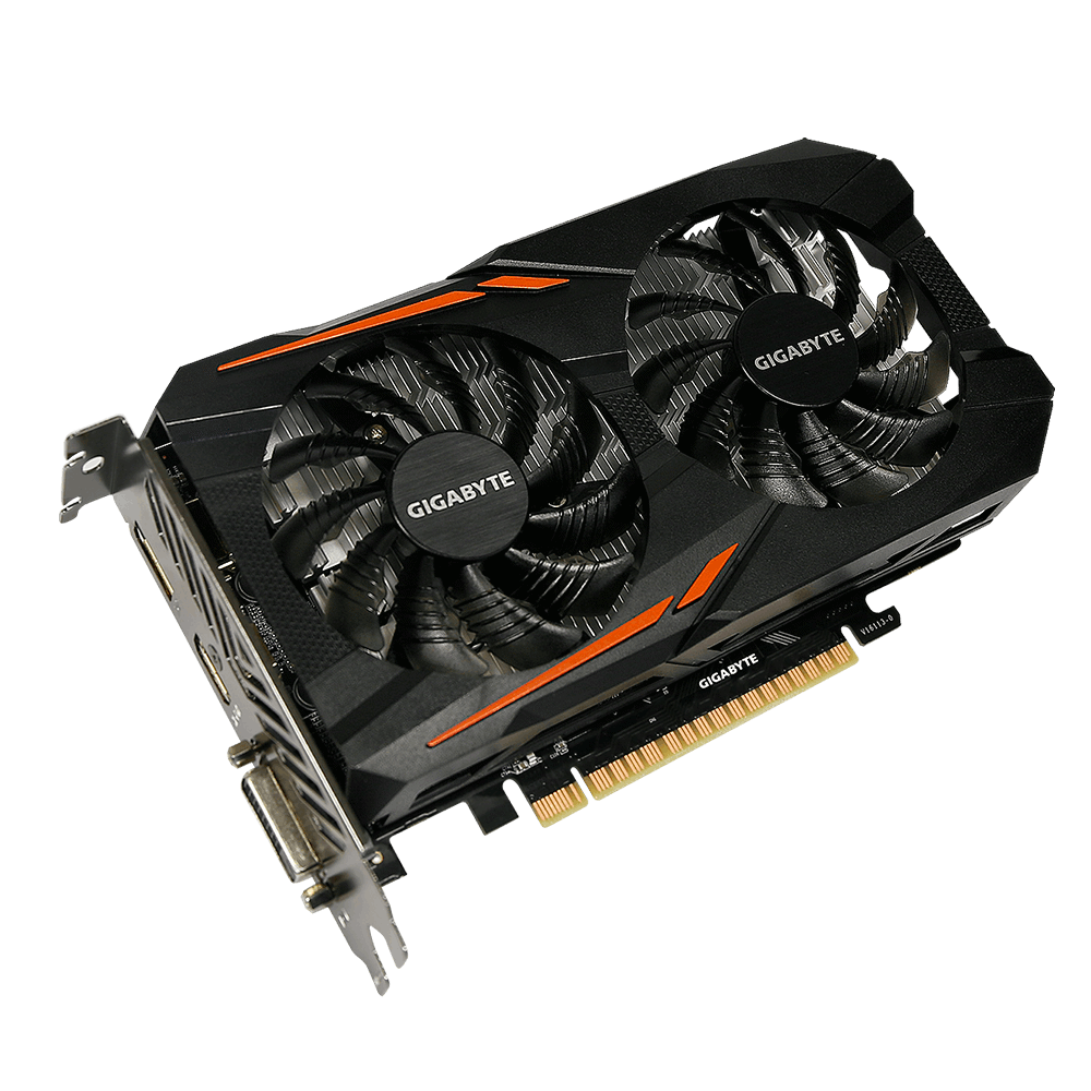 GIGABYTE GeForce® GTX 1050 Ti OC 4G /GV-N105TOC-4GD