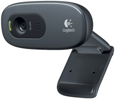 Webcame Logitech C270h + tai nghe
