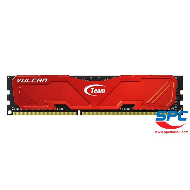 Bộ nhớ DDR3 Team Vulcan 8Gb/1600Mhz Tản nhiệt