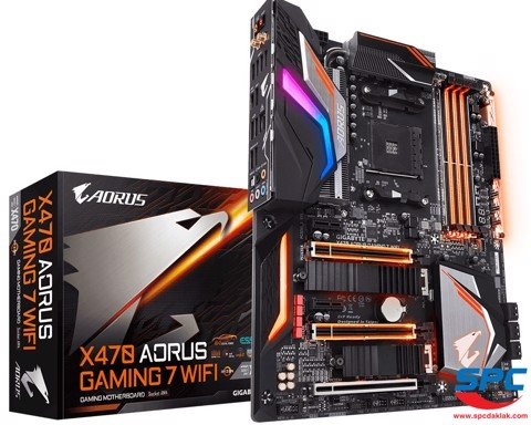 Bo mạch Gigabyte X470 Aorus Gaming 7 Wifi (AM4)