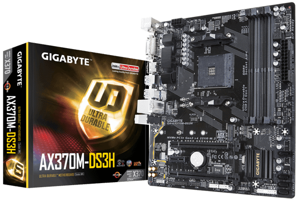Mainboard GIGABYTE AX370M-DS3H