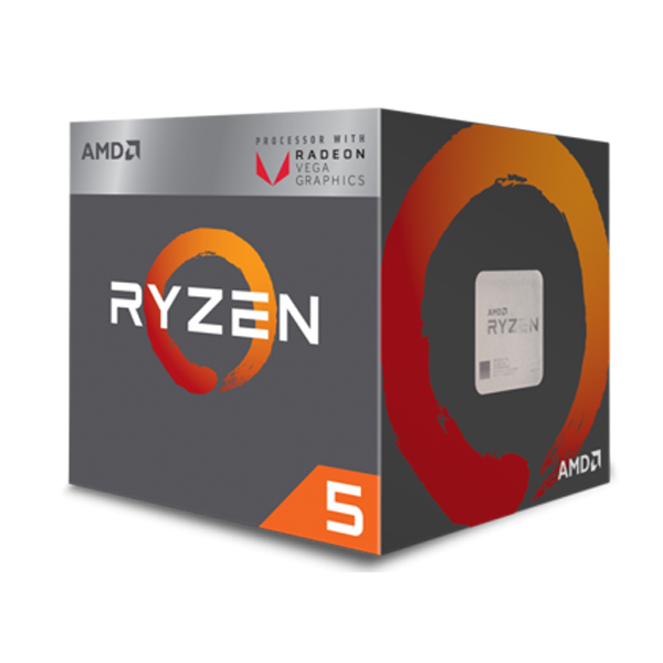 AMD Ryzen™ 5 2400G with Radeon™ RX Vega 11 Graphics
