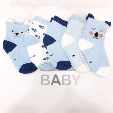 Set 5 Tất Soft & Cotton