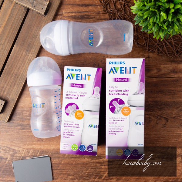 Bình Sữa Philips Avent Natural