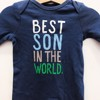 Sleep Suit Bé Trai Old Navy Xanh Best Son In The World