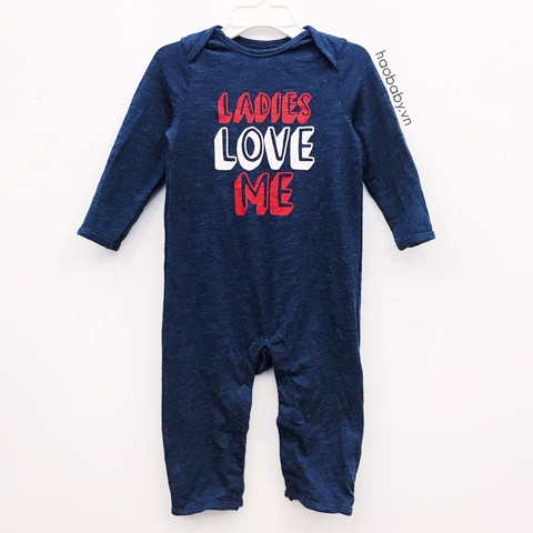 Sleep Suit Bé Trai Old Navy Xanh Ladies Love Me