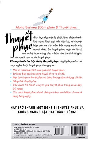 Phong Thái Của Bậc Thầy Thuyết Phục (Persuasion: The Art Of Getting What You Want)