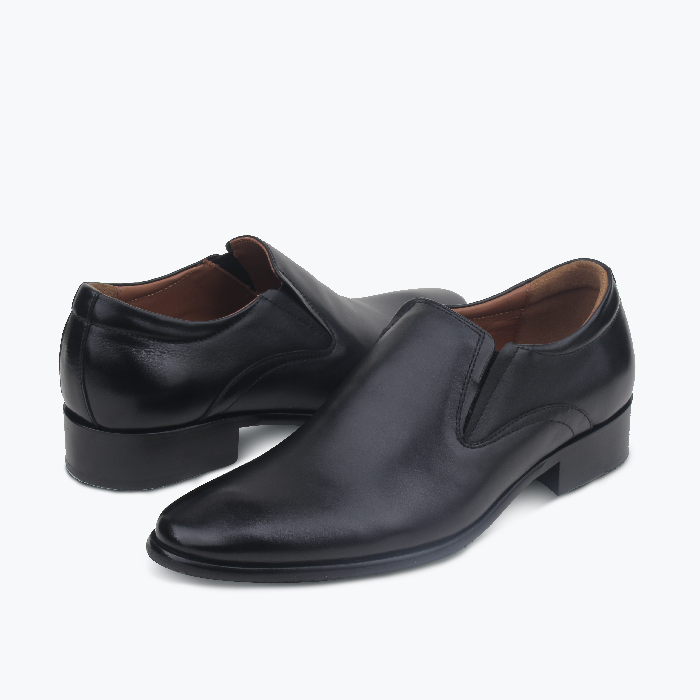 Giày Da Nam Black Oxford
