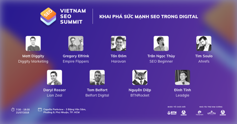 BTN ROCKET - VIETNAM SEO SUMMIT