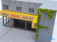 Mô Hình Nhà Mugen Power Garage Diorama With Accessories 1:64 Magic City