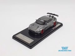 XE MÔ HÌNH NISSAN GTR R35 LB WORKS LIBERTY WALK 1:43 ONE MODEL (CHROME)