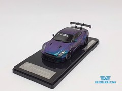 XE MÔ HÌNH NISSAN GTR R35 LB WORKS LIBERTY WALK 1:43 ONE MODEL (ANDROMEDA)