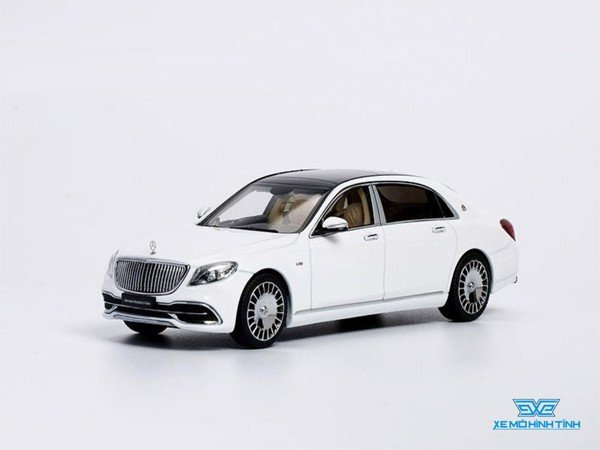 Xe Mô Hình Mercedes-Maybach S-Class 2019 1:43 Almost Real ( Diamond White )