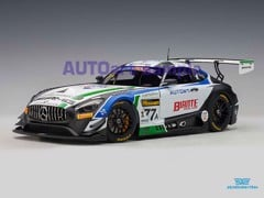 Xe Mô Hình Mercedes Benz AMG GT3 Team Craft Bamboo Black Falcon Bathurst 1:18 Autoart