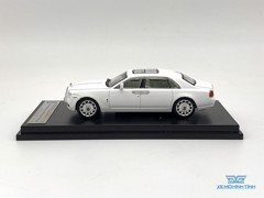 Xe Mô Hình Rolls Royce Ghoste Extended Wheelbase 1:64 Collector's Model ( Trắng )