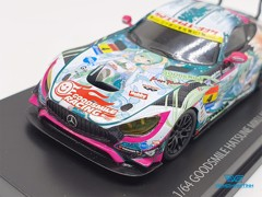 Xe Mô Hình Mercedes-Benz AMG 2017 Supper GT Hatsune Miku 1:64 Goodsmile Racing