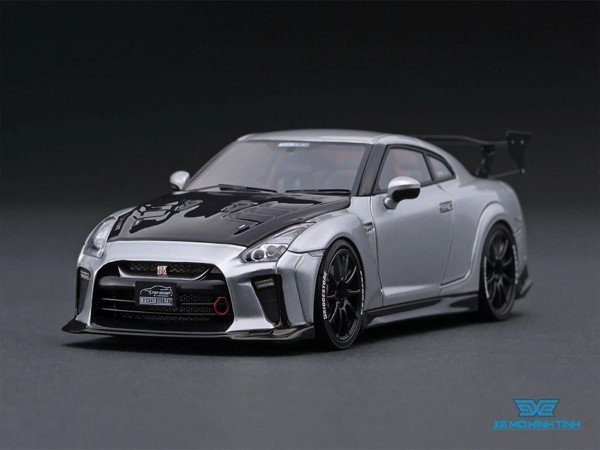 Xe Mô Hình Nissan Top Secret GT-R 1:43 Ignition Model ( Bạc )