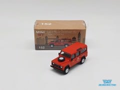 Xe Mô Hình Land Rover Defender 110 Royal Mail Post Bus RHD 1:64 Mini GT ( Đỏ )