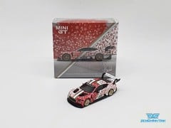 Xe Mô Hình Bentley Continental GT3 Christmas Edition 2020 1:64 MiniGT ( Christmas )