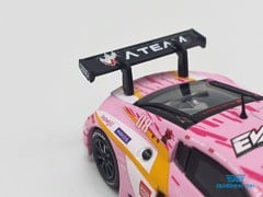 Xe Mô Hình Audi R8 LMS Production Model Custom Type-08 X Works R8 1:64 Pop Race ( Hồng )