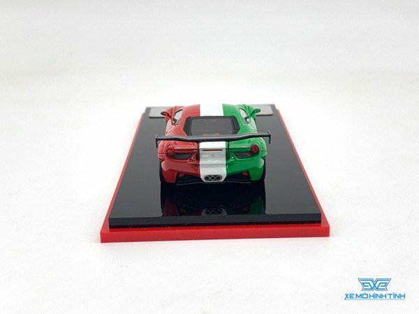 Xe Mô Hình Ferrari 458 Martini Racing Limited 299pcs 1:64 Scale Mini ( Italia )