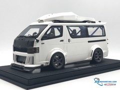 Toyota  Hiace D550 Wide Body Concept Dreamwalker 1:18 (Trắng)