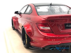 Mercedes-Benz C63 Liberty Walks 1:18 ( Đỏ ) - Da