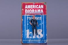 Figure Police Officer Herry 1:18 American Diorama